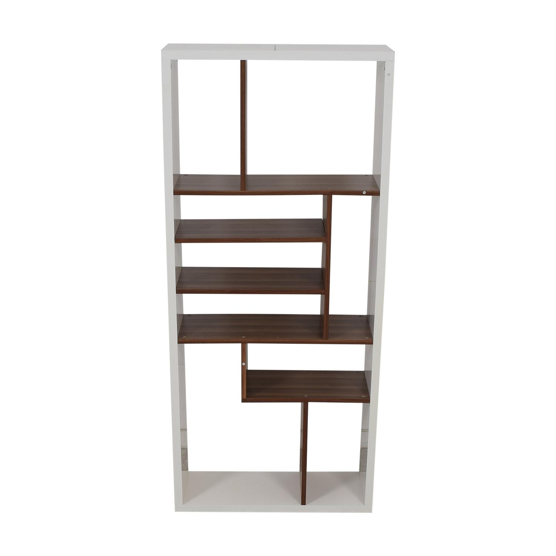 AllModern Allmodern White Bookcase dimensions