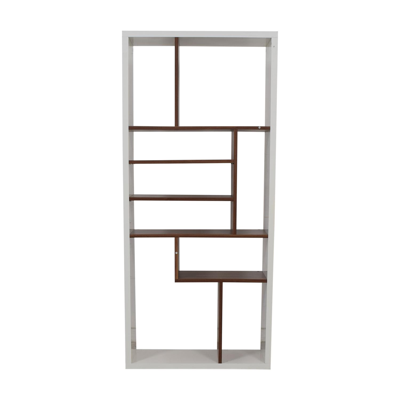 AllModern Allmodern White Bookcase Bookcases & Shelving