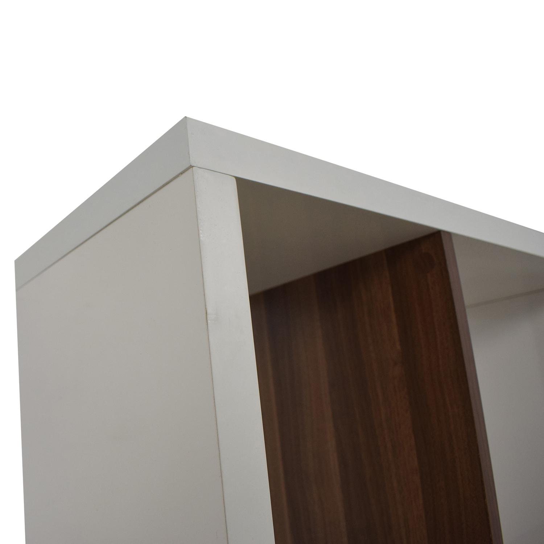 Allmodern White Bookcase / Bookcases & Shelving