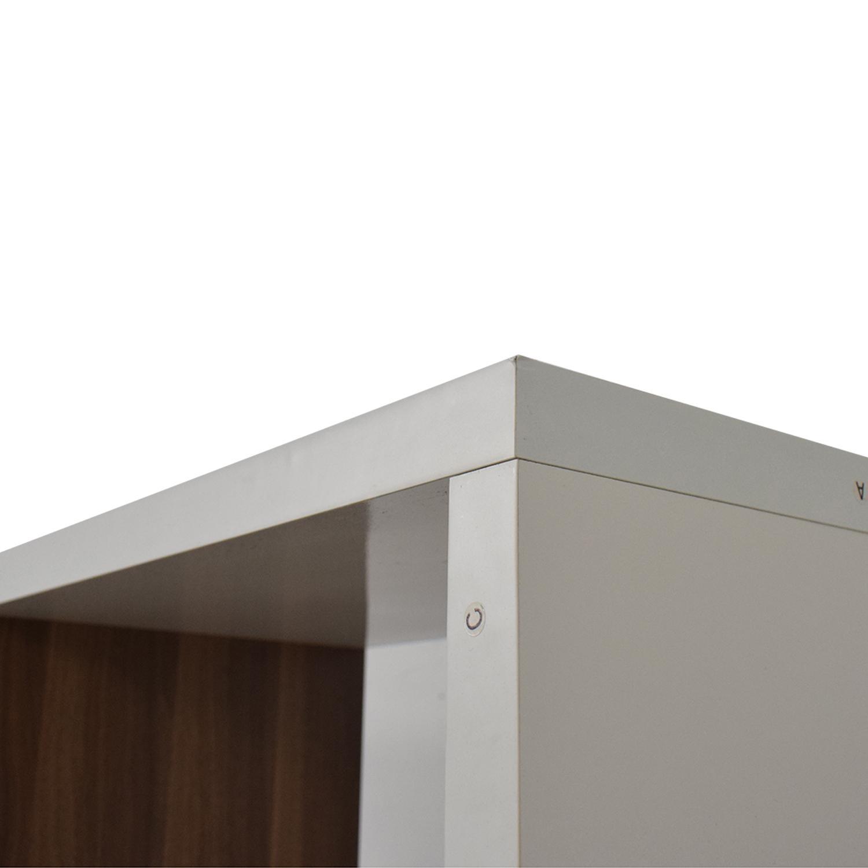 AllModern Allmodern White Bookcase second hand