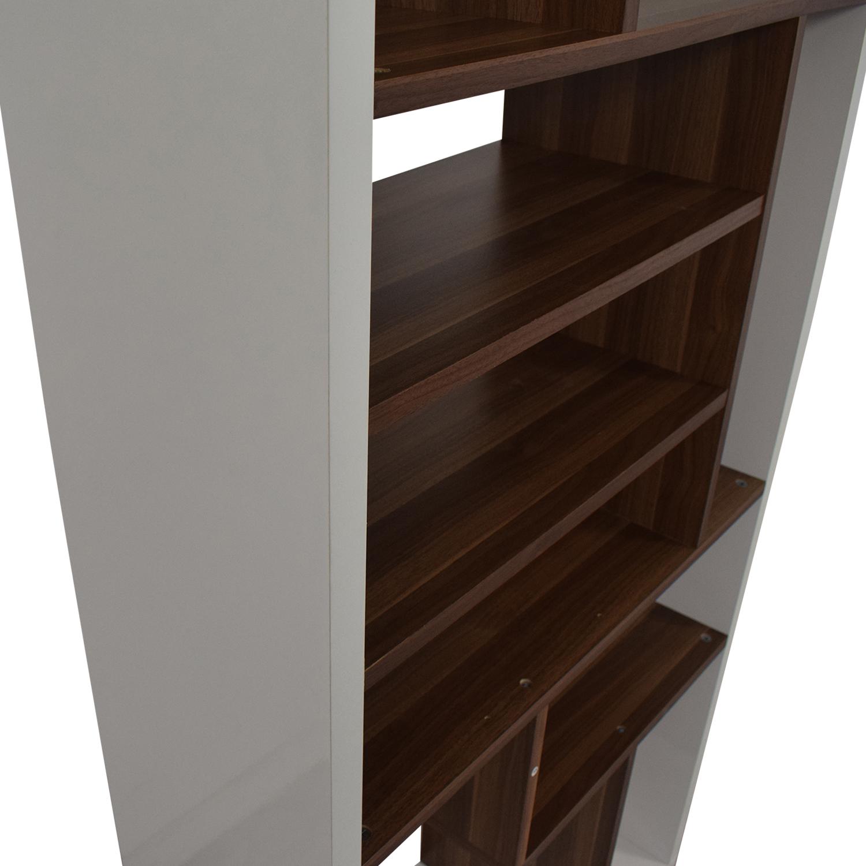 Allmodern White Bookcase / Storage