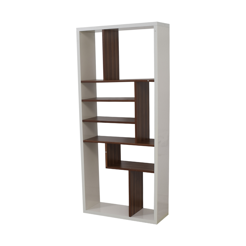 AllModern Allmodern White Bookcase on sale