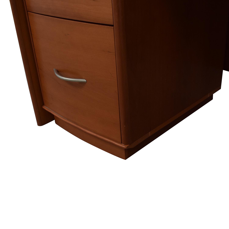 Modern Four-Drawer Desk