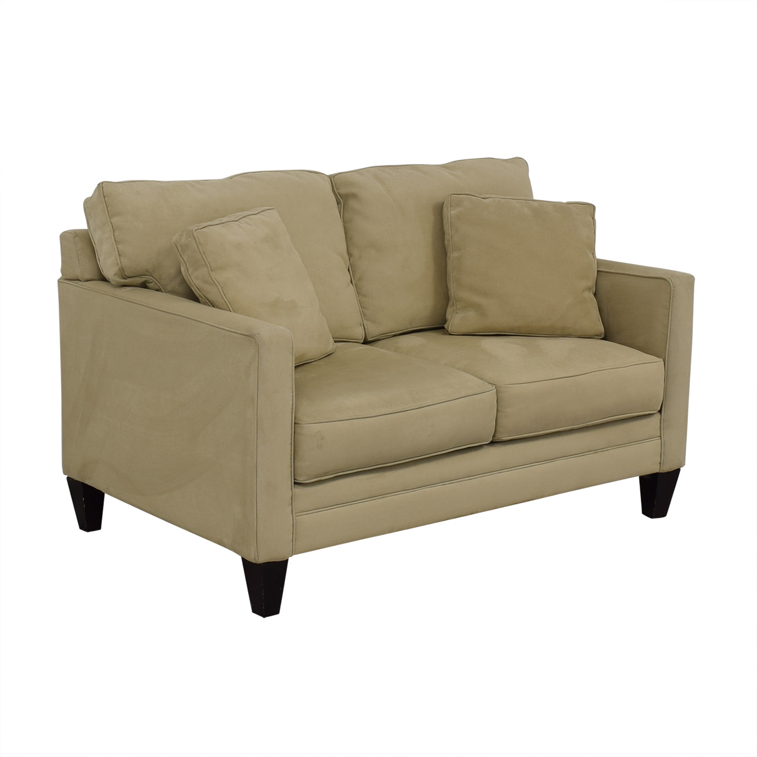 Bauhaus Furniture Bauhaus Furniture Suede Loveseat dimensions