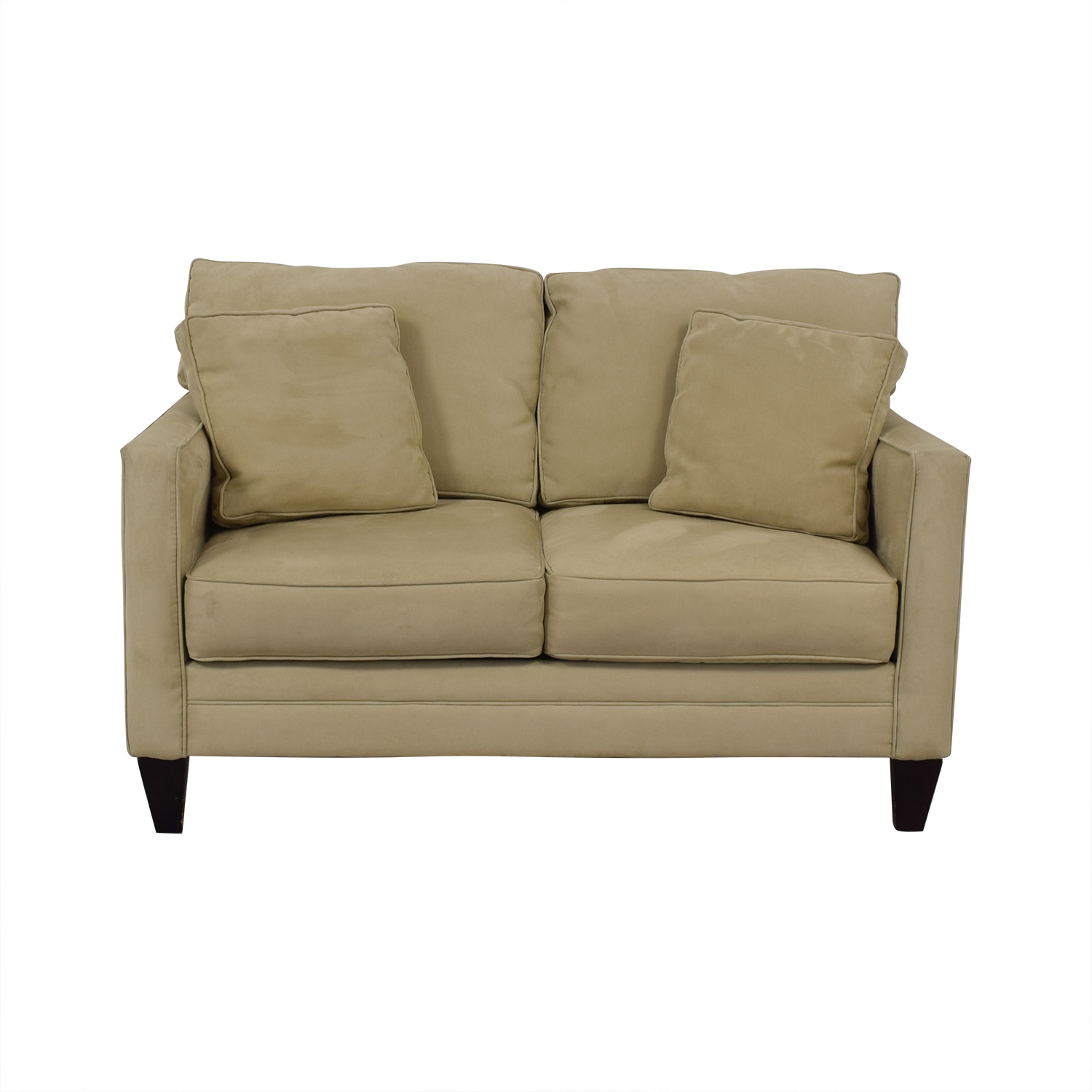 shop Bauhaus Furniture Suede Loveseat Bauhaus Furniture