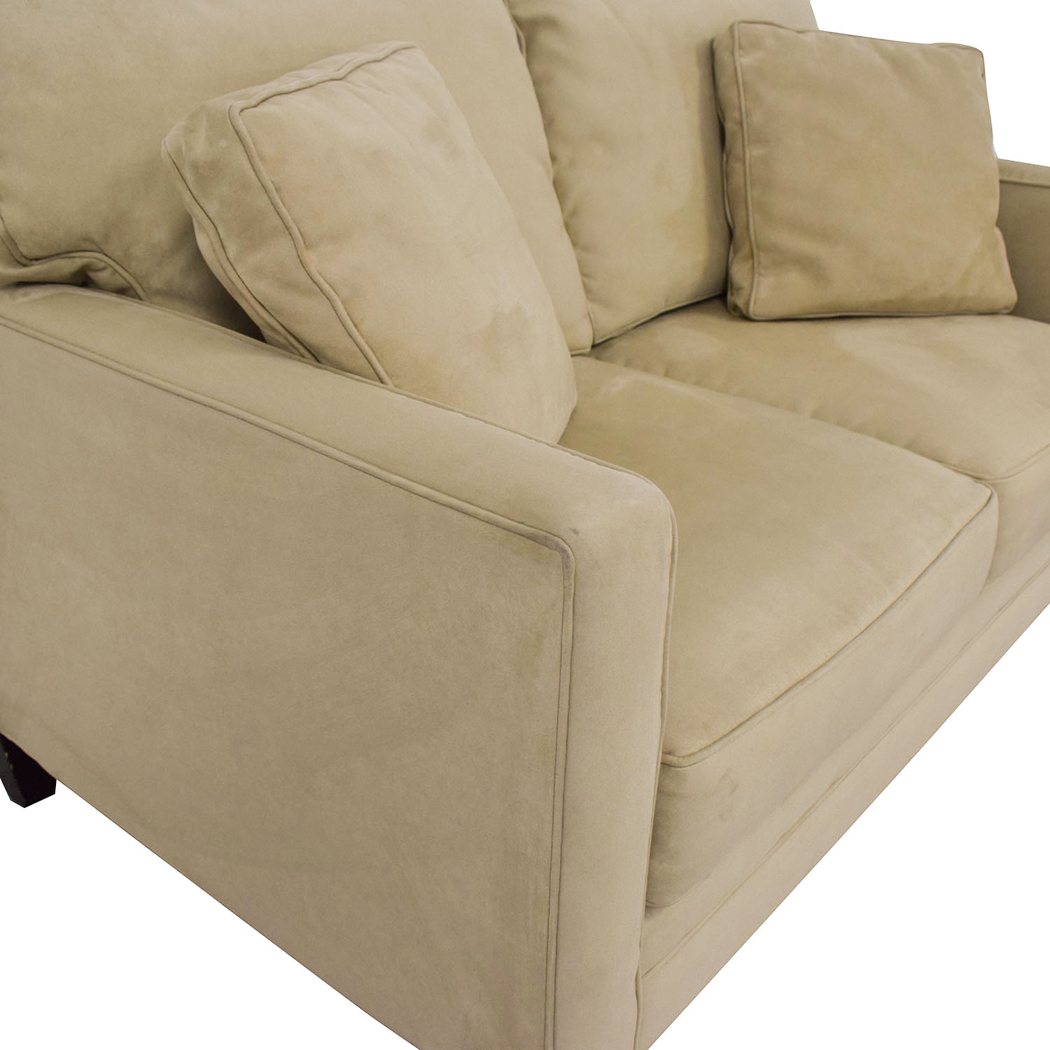 Bauhaus Furniture Bauhaus Furniture Suede Loveseat coupon