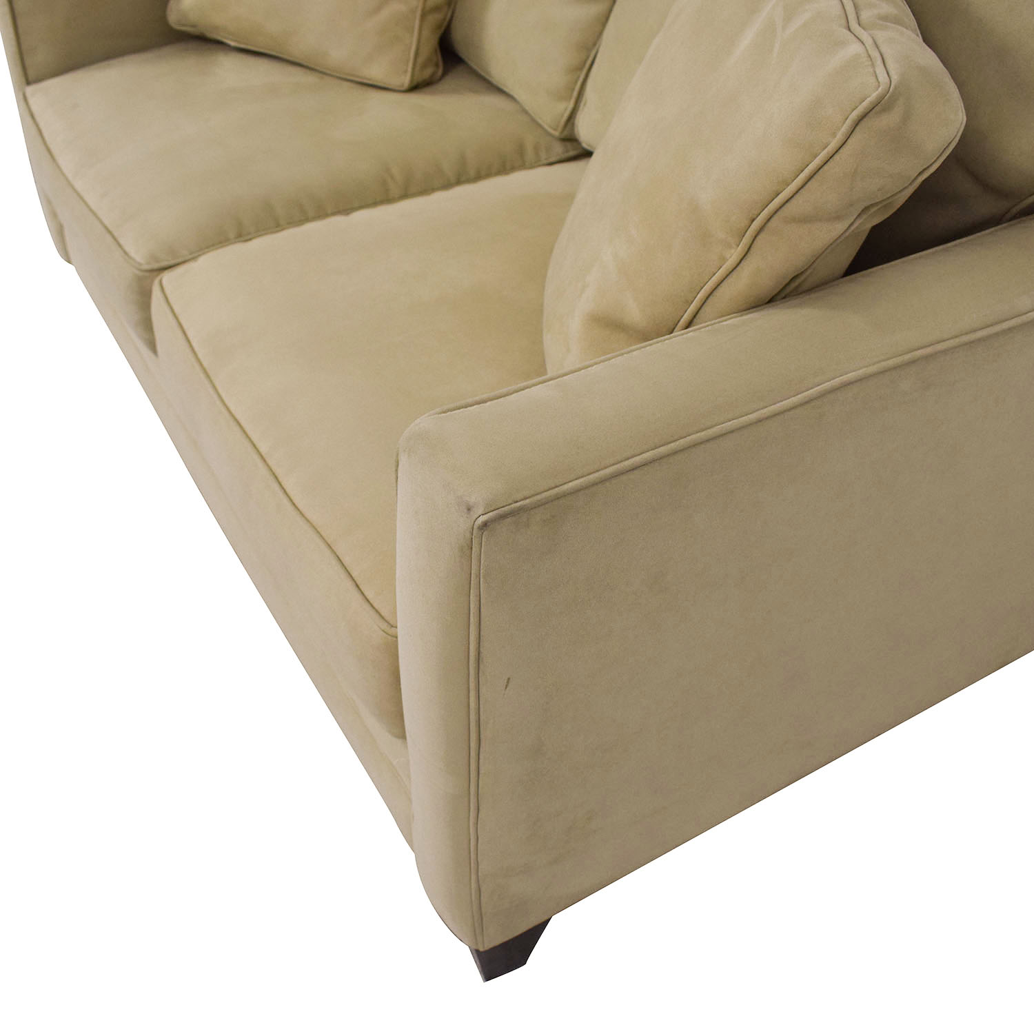 Bauhaus Furniture Bauhaus Furniture Suede Loveseat discount