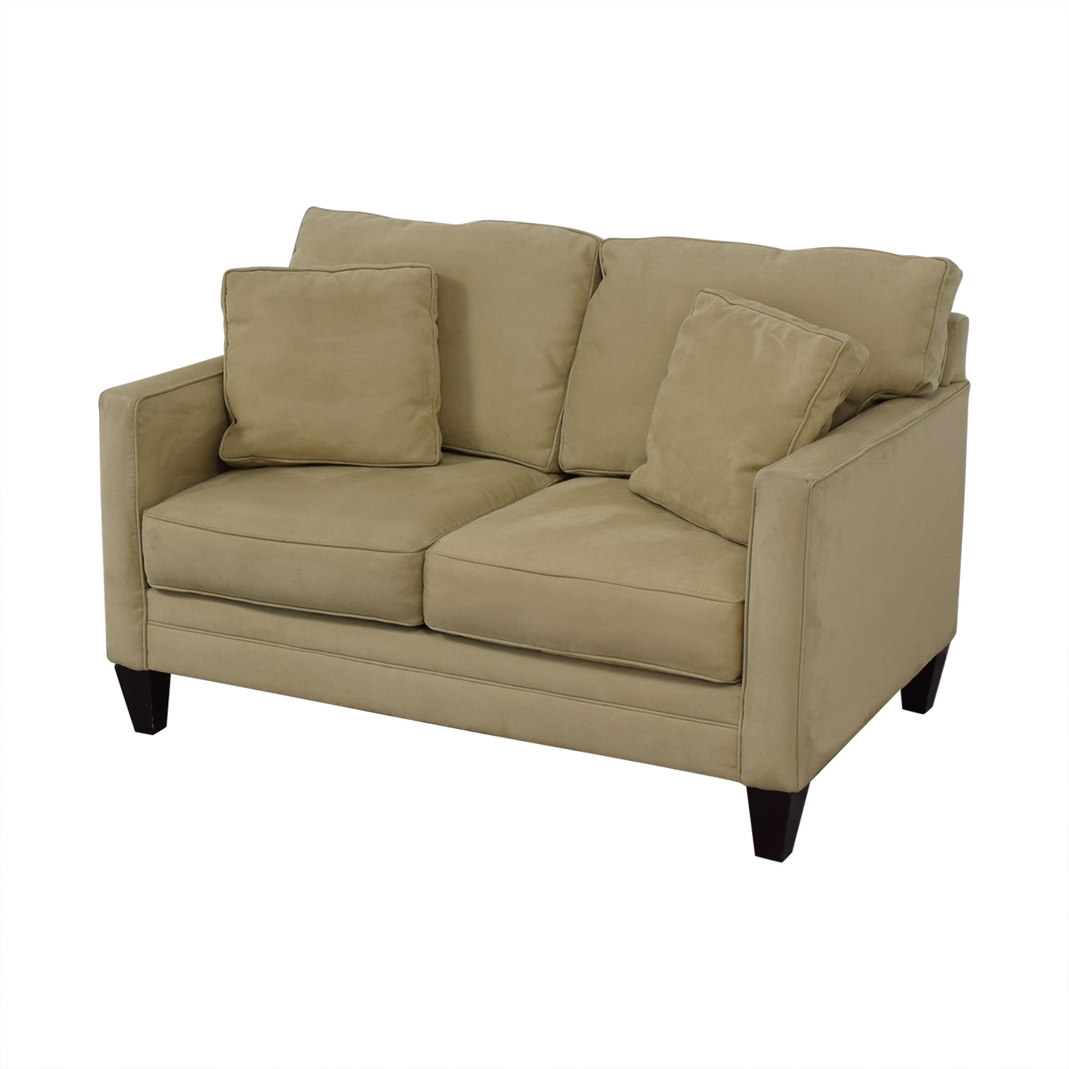 Bauhaus Furniture Bauhaus Furniture Suede Loveseat Loveseats