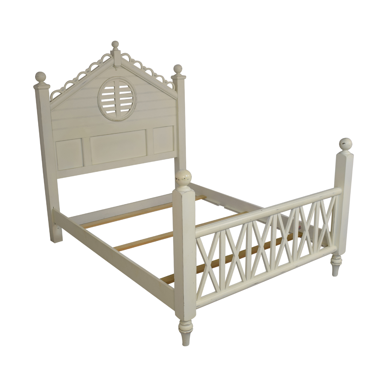 Lexington Furniture Seaside Retreat Coastal Cottage Queen Bed / Bed Frames