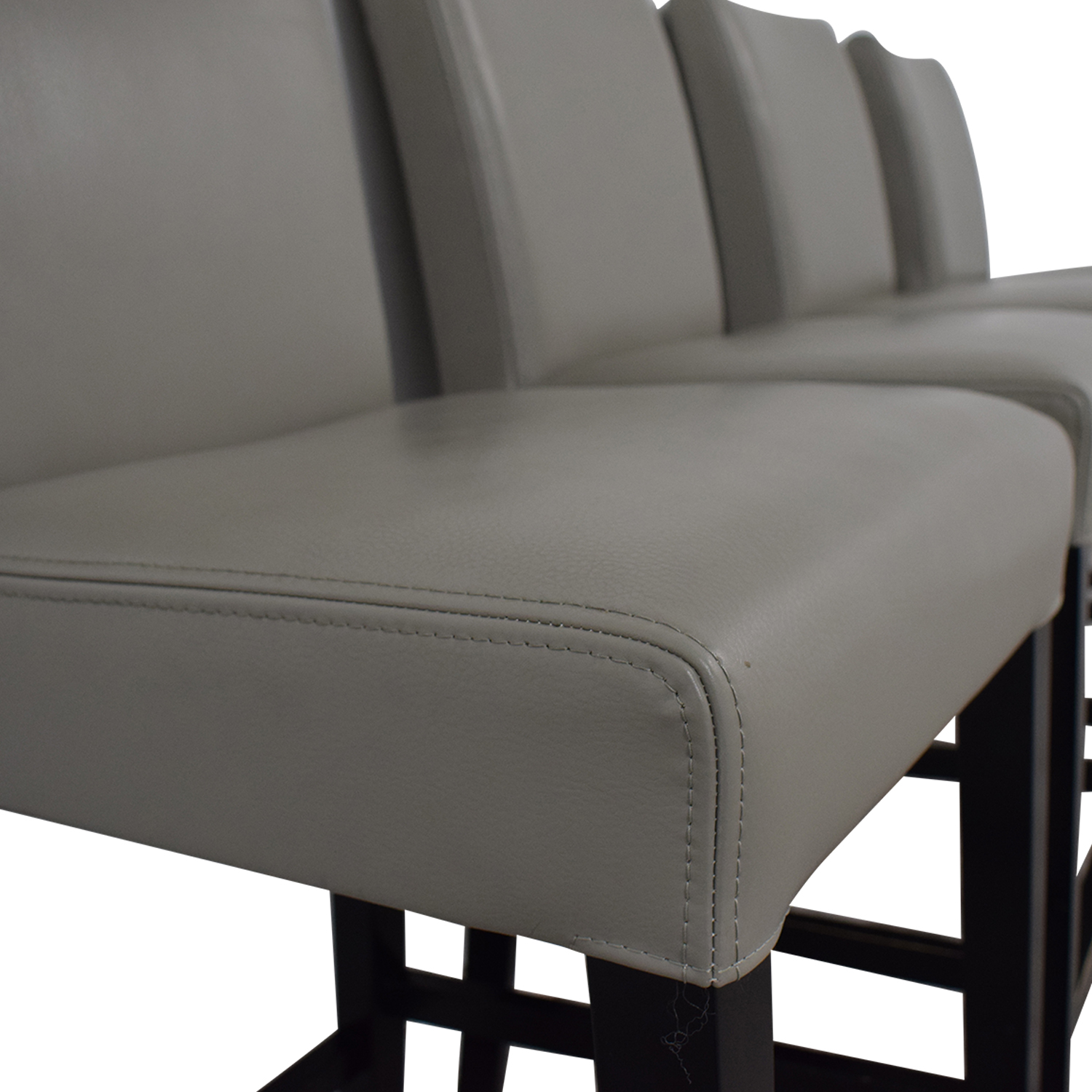 Grey Leather Stools coupon