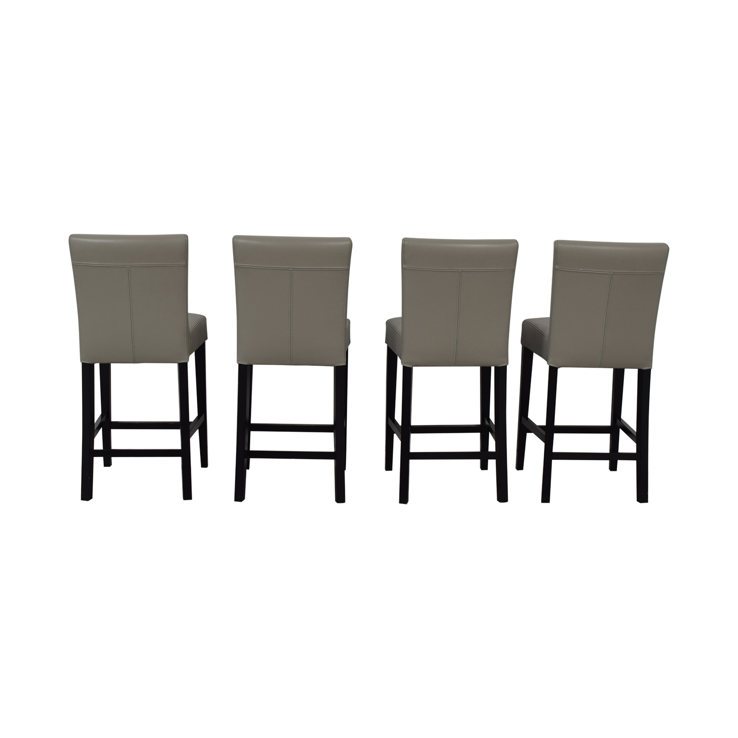 shop Grey Leather Stools
