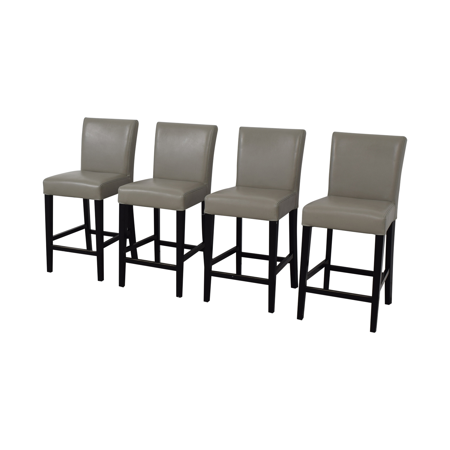 buy  Grey Leather Stools online