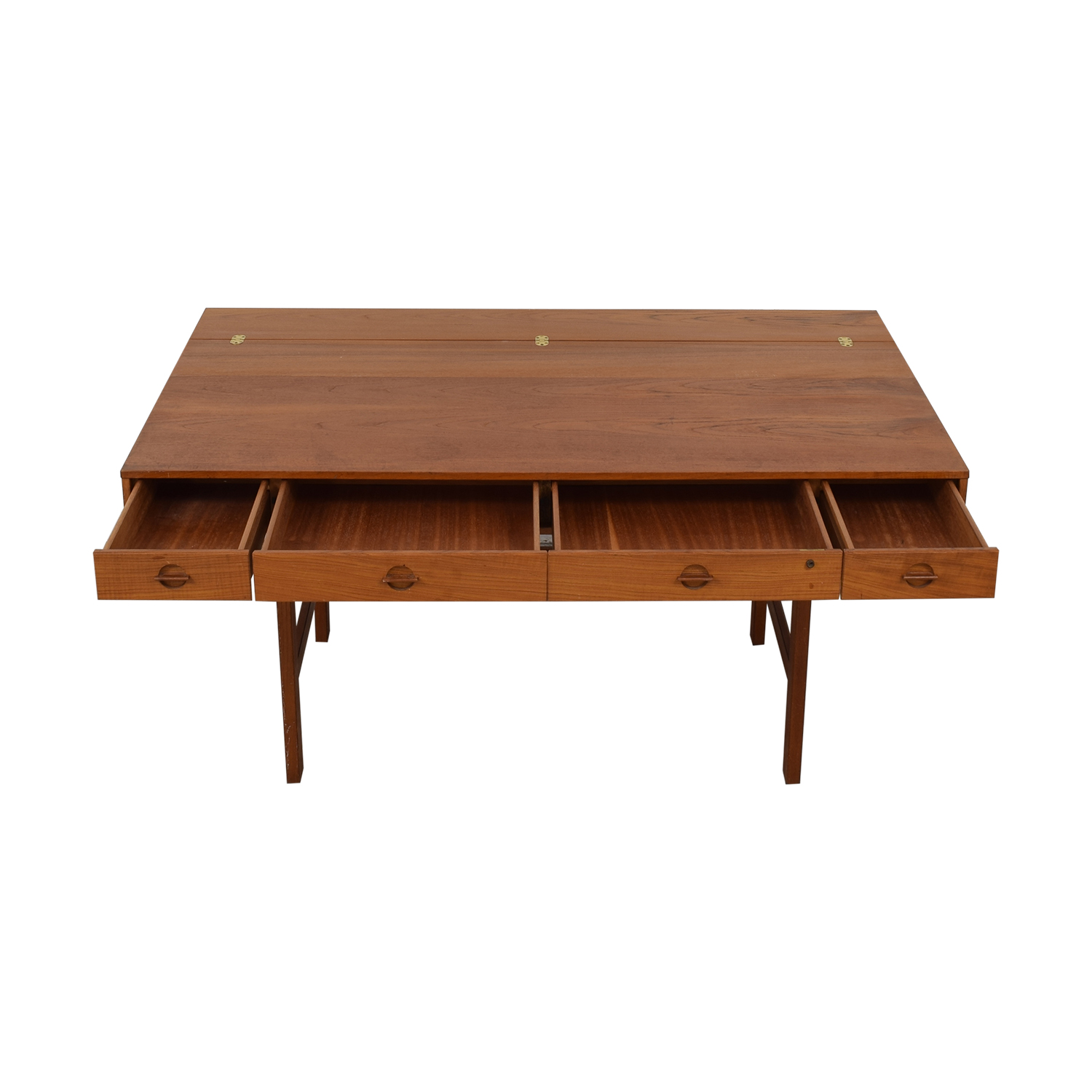 Løvig Peter Lovig Nielsen By Jens Quistgaard Flip-Top Desk in Teak on sale