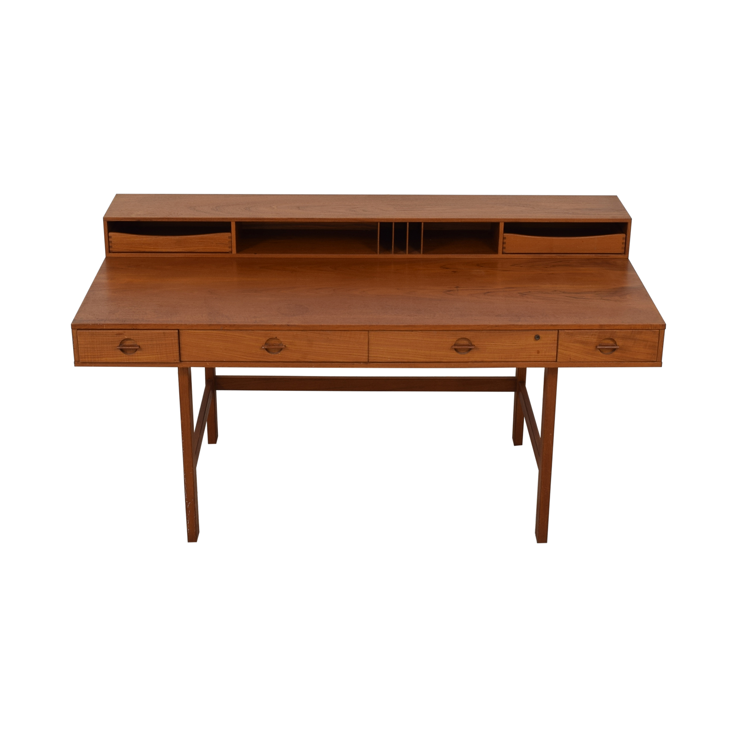 Løvig Peter Lovig Nielsen By Jens Quistgaard Flip-Top Desk in Teak second hand