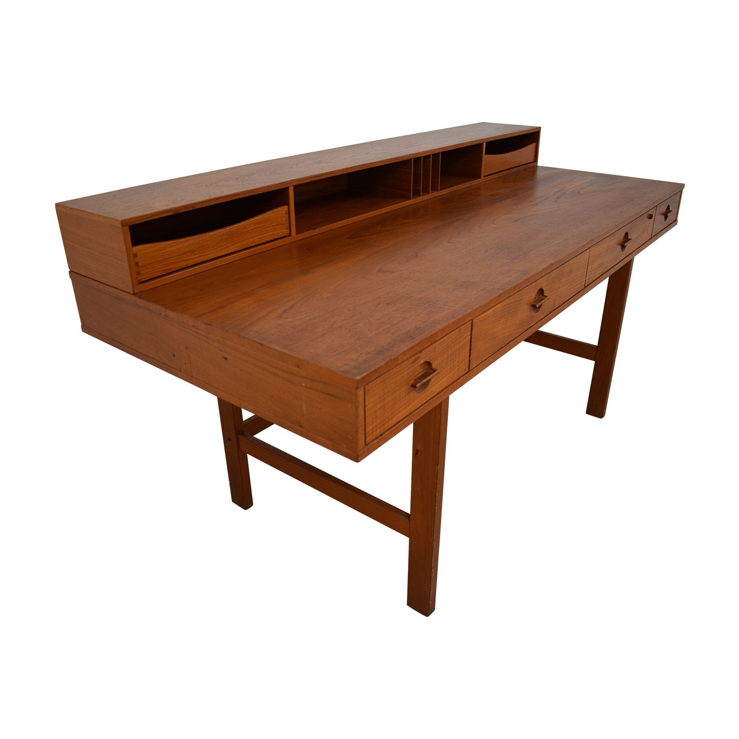 buy Løvig Peter Lovig Nielsen By Jens Quistgaard Flip-Top Desk in Teak online