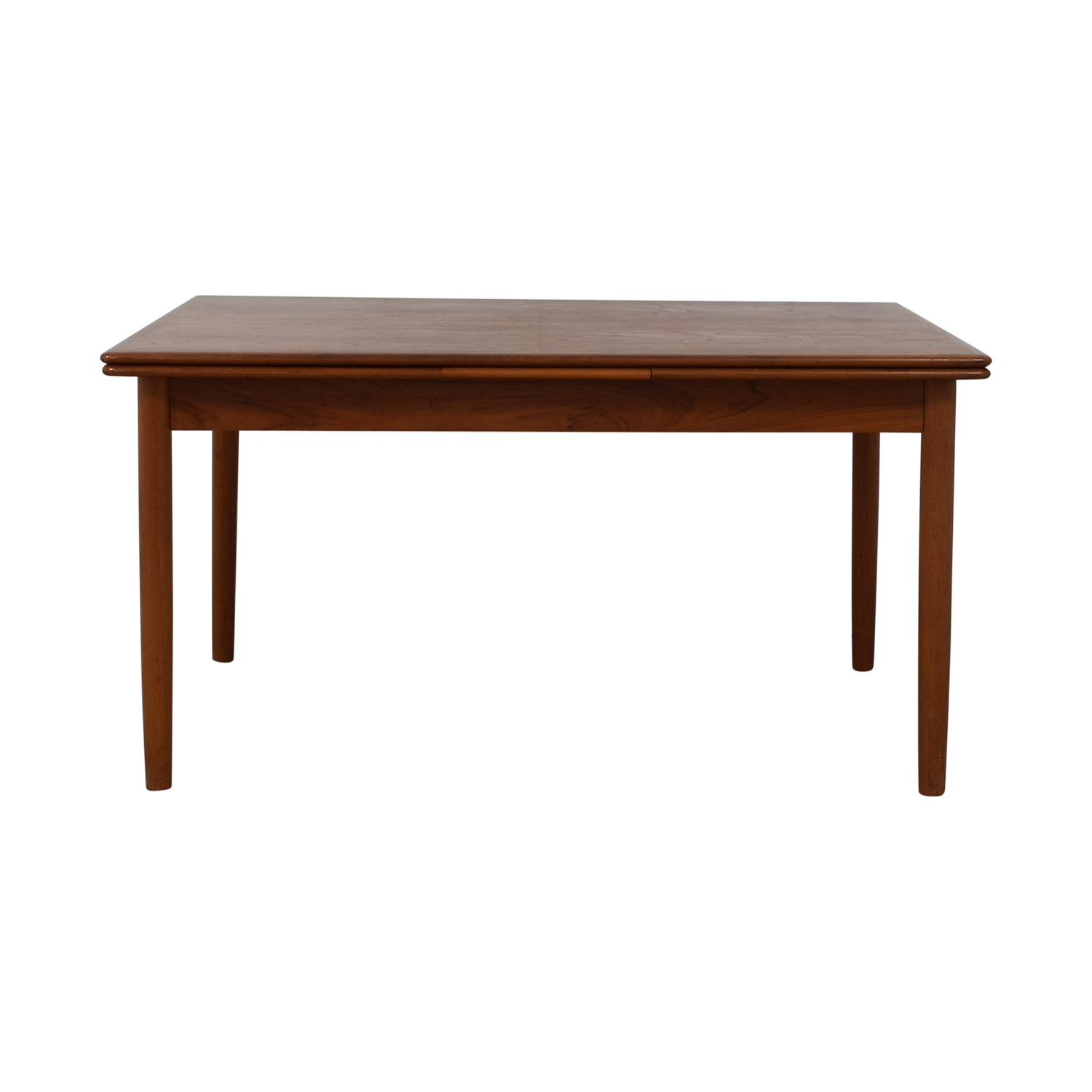 International Design Center International Design Center Danish Modern Dining Table Brown