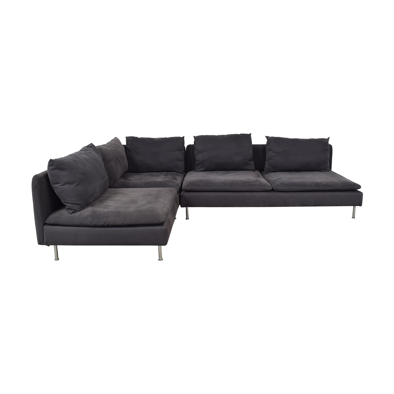 low cost a35d8 bfa9f 57% OFF - IKEA IKEA Soderham Sectional Sofa / Sofas