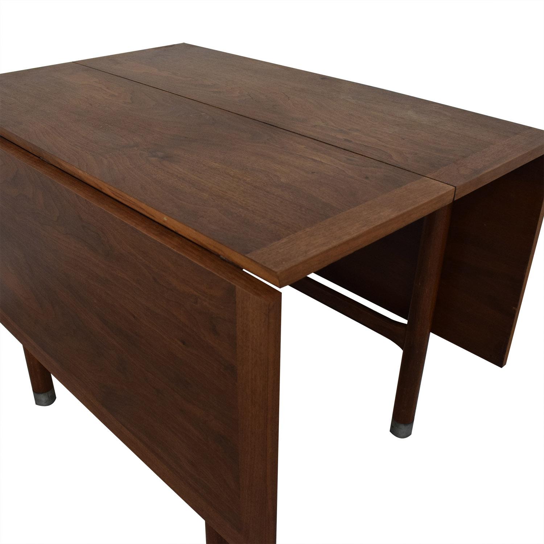 Mid-Century Drop Leaf Extendable Table sale