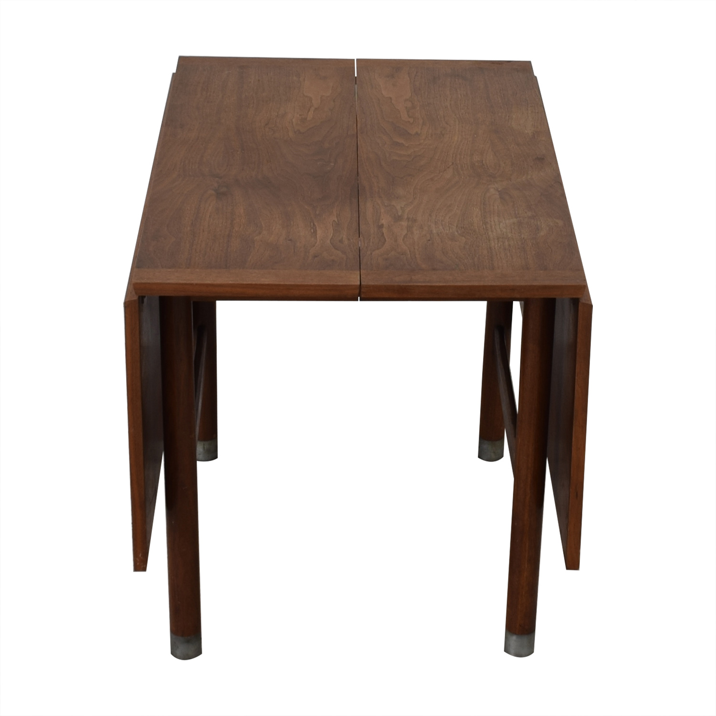 Mid-Century Drop Leaf Extendable Table Tables