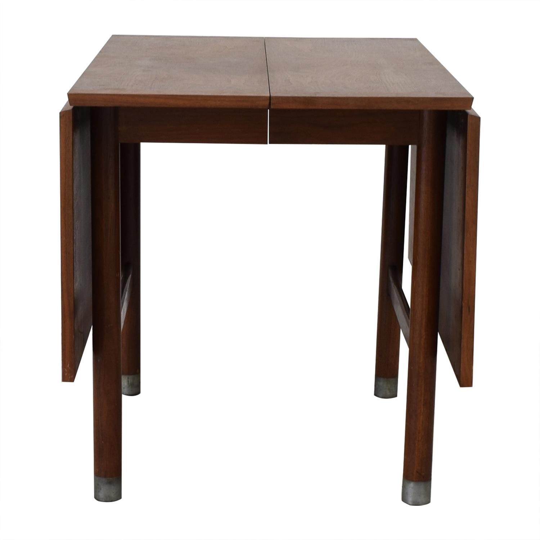 buy  Mid-Century Drop Leaf Extendable Table online