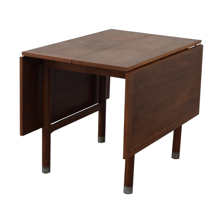 Mid-Century Drop Leaf Extendable Table nj