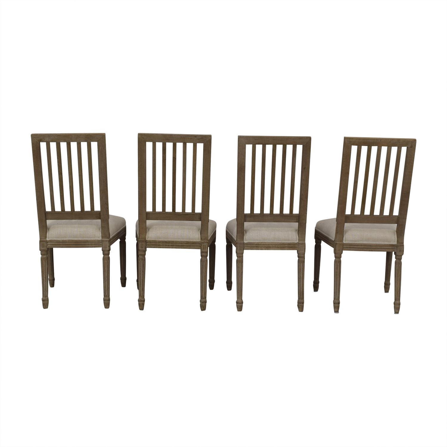 Restoration Hardware Restoration Hardware Spindle Back Dining Chairs nj