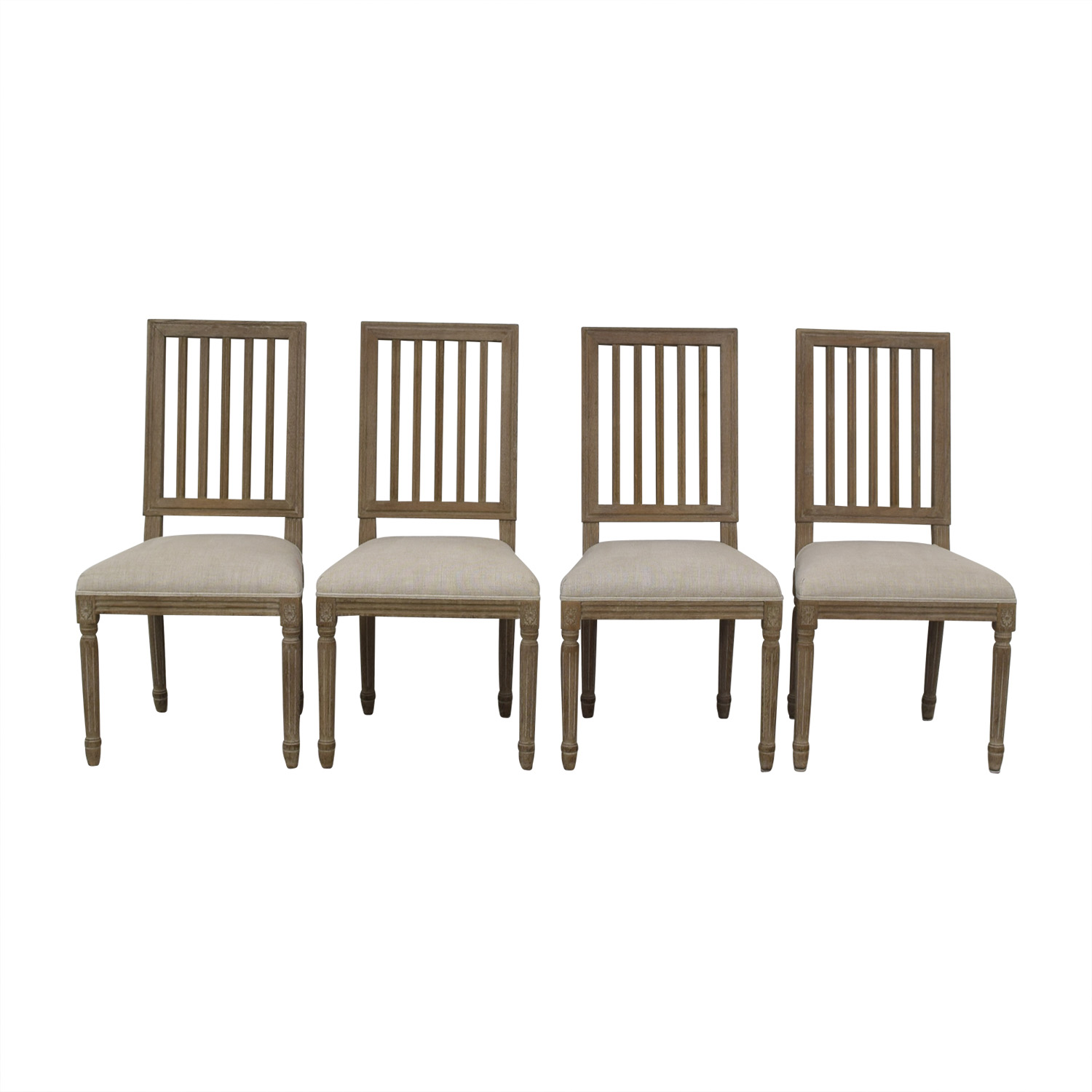 Restoration Hardware Restoration Hardware Spindle Back Dining Chairs