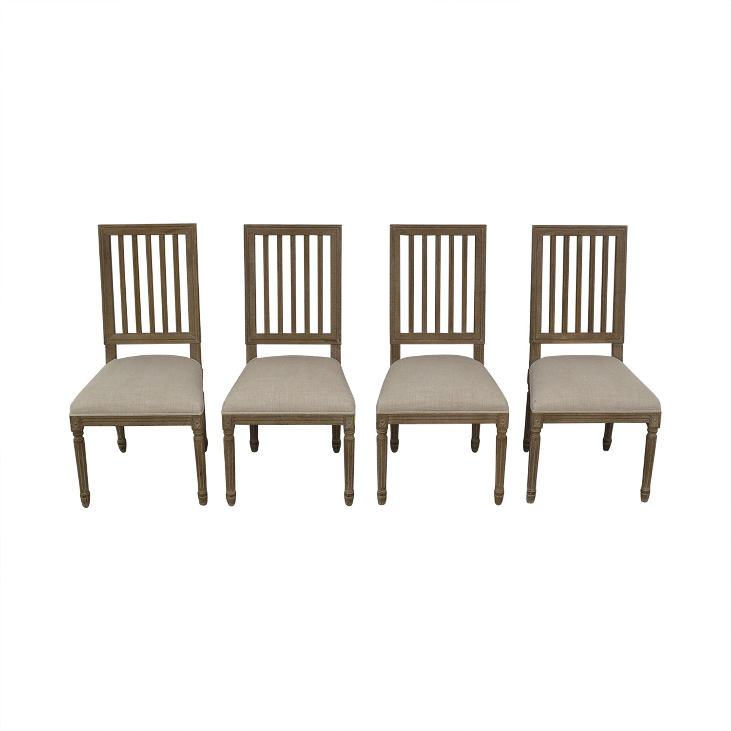 Restoration Hardware Spindle Back Dining Chairs / Chairs