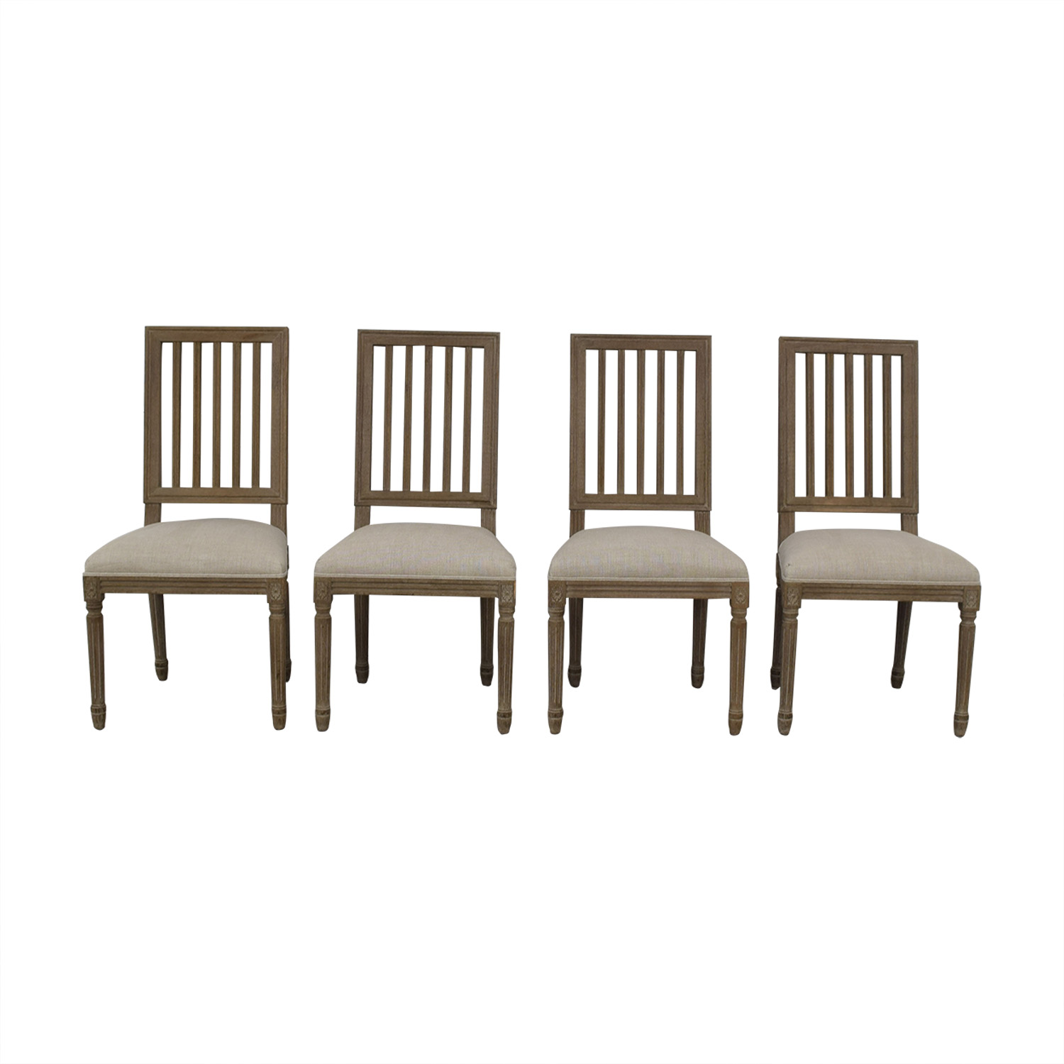 shop Restoration Hardware Spindle Back Dining Chairs Restoration Hardware Chairs