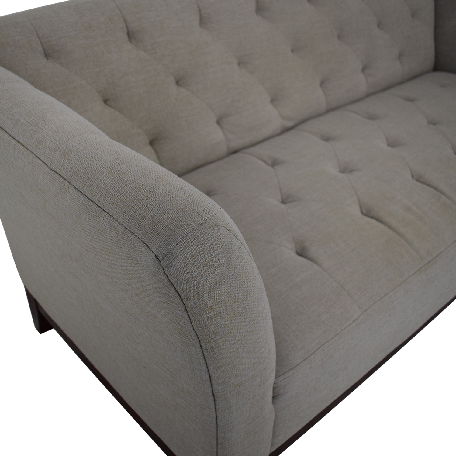Macy's Macy's Tory Apartment Size Sofa second hand