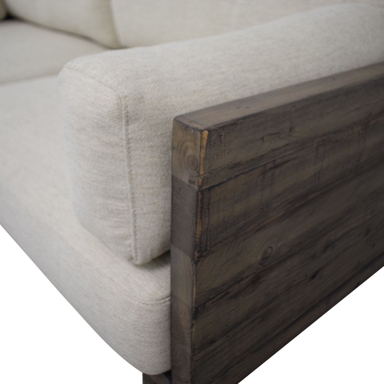 West Elm West Elm Emmerson Reclaimed Wood Sofa second hand