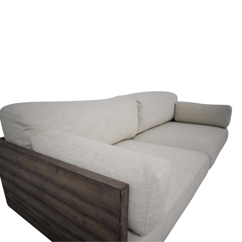 shop West Elm West Elm Emmerson Reclaimed Wood Sofa online