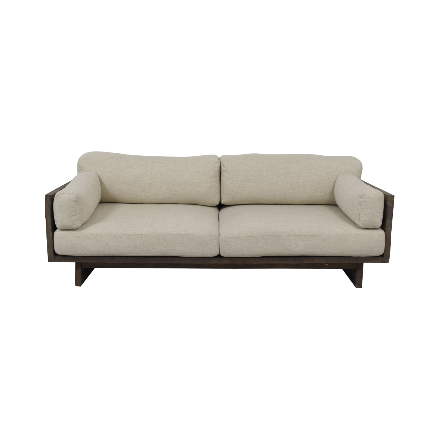 West Elm West Elm Emmerson Reclaimed Wood Sofa dimensions