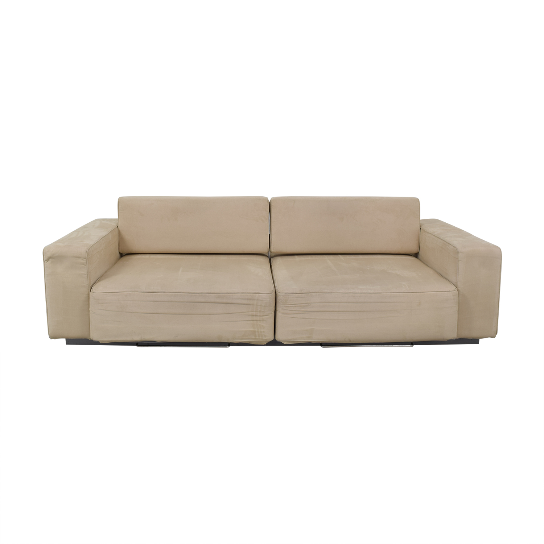 B&T Design B&T Design Microfiber Pullout Sofa used