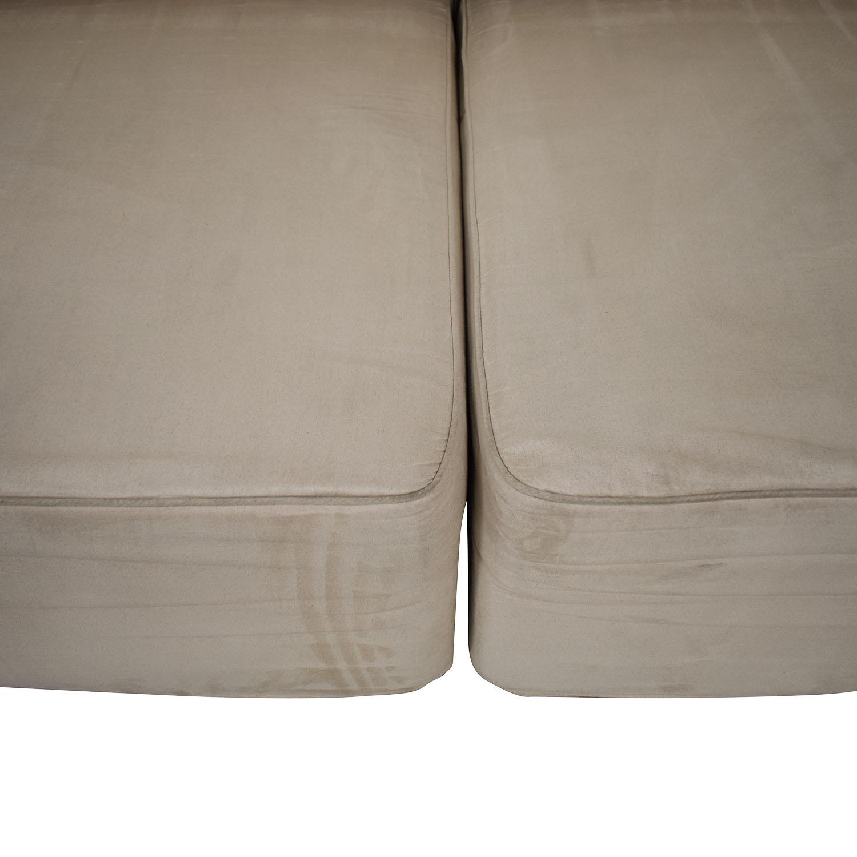 buy B&T Design Microfiber Pullout Sofa B&T Design Sofas