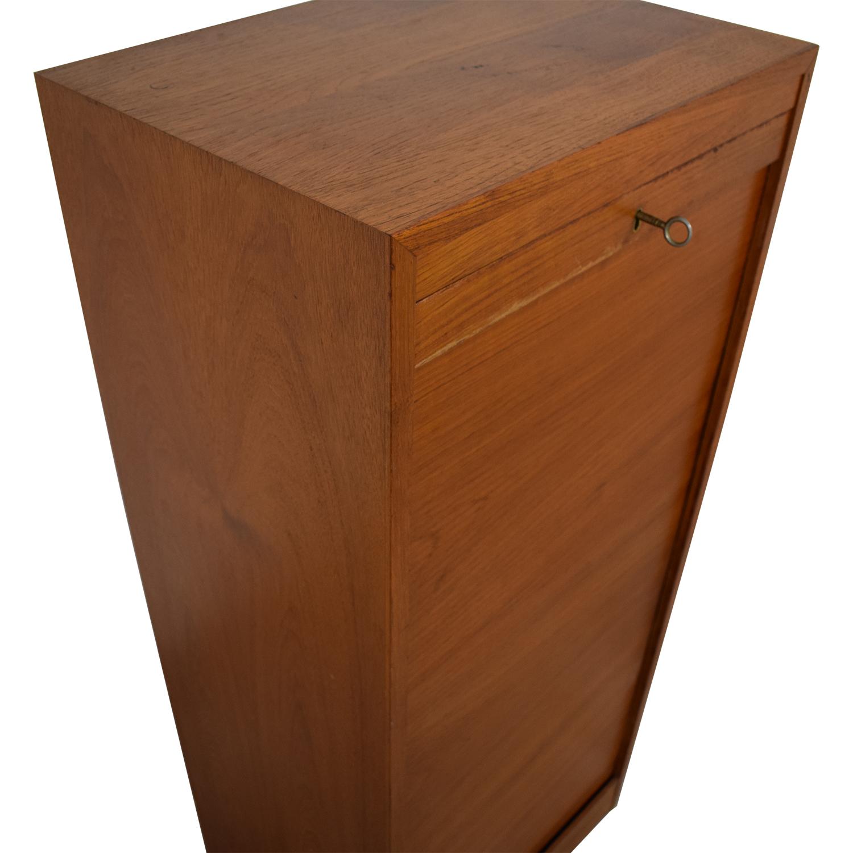International Design Center Teak Danish Modern Filing Cabinet / Bookcases & Shelving