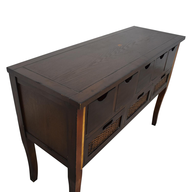 Pier 1 Logan Storage Console Table sale