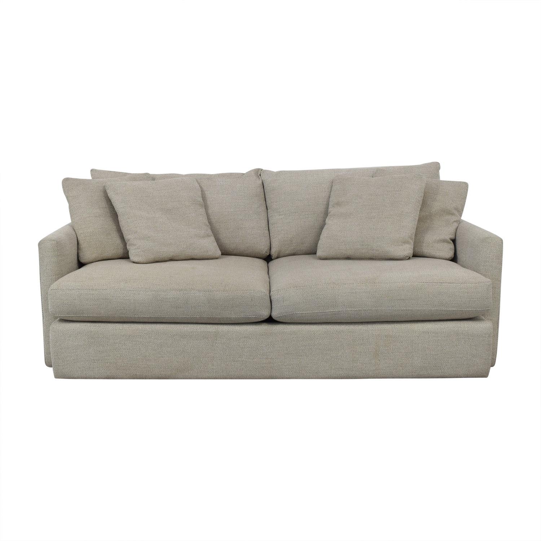 "Crate & Barrel Crate & Barrel Lounge II 93"" Sofa coupon"