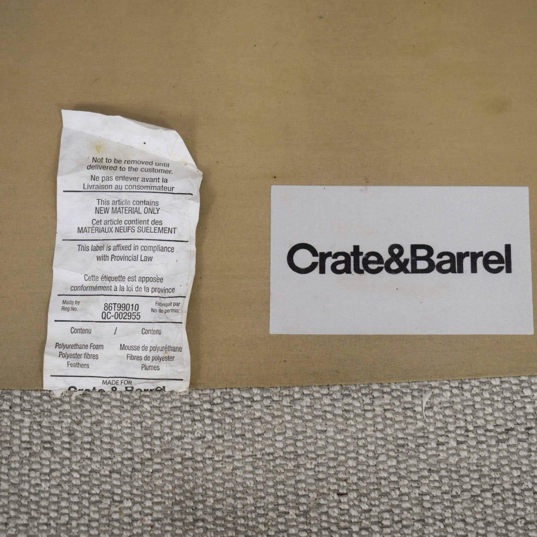 "Crate & Barrel Crate & Barrel Lounge II 93"" Sofa price"