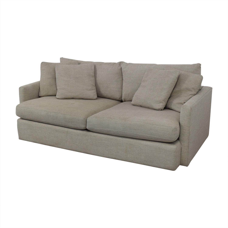 "Crate & Barrel Lounge II 93"" Sofa / Sofas"