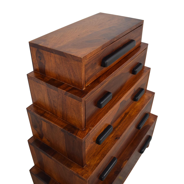 buy Anthropologie Brigitta Stacked Dresser Anthropologie