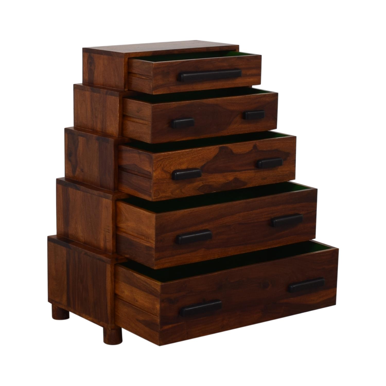 shop Anthropologie Brigitta Stacked Dresser Anthropologie