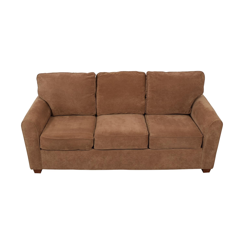 La Z Boy Stationary Three Cushion Sofa