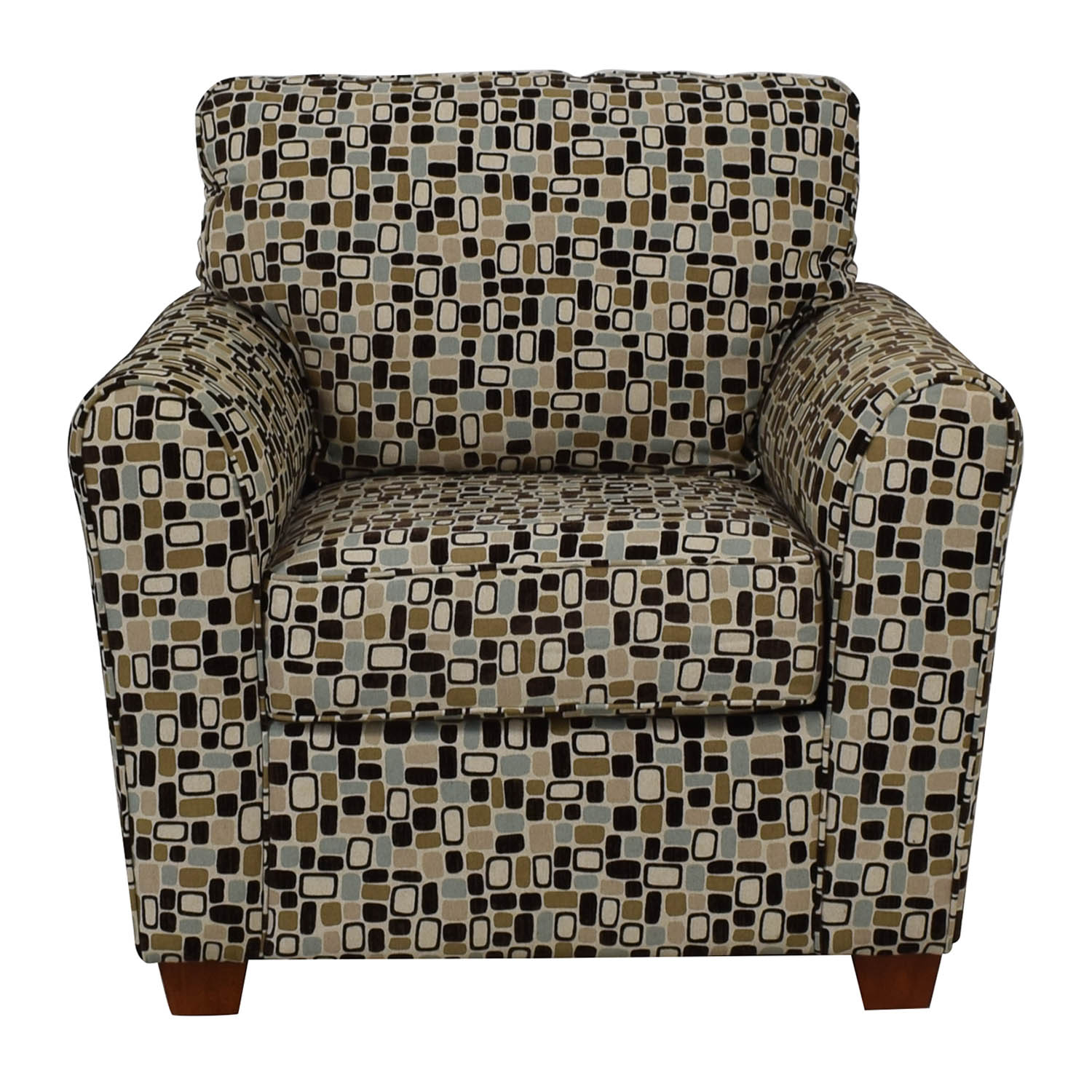 La-Z-Boy Patterned Armchair / Accent Chairs