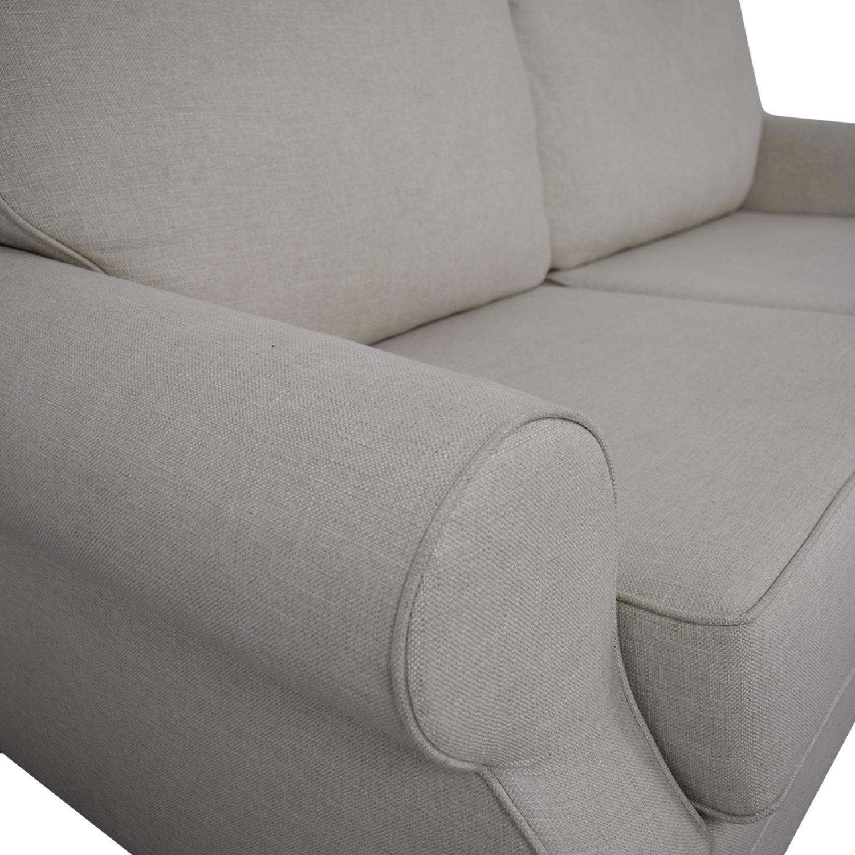 Awe Inspiring 78 Off Pottery Barn Pottery Barn Buchanan Roll Arm Upholstered Sofa Sofas Interior Design Ideas Ghosoteloinfo