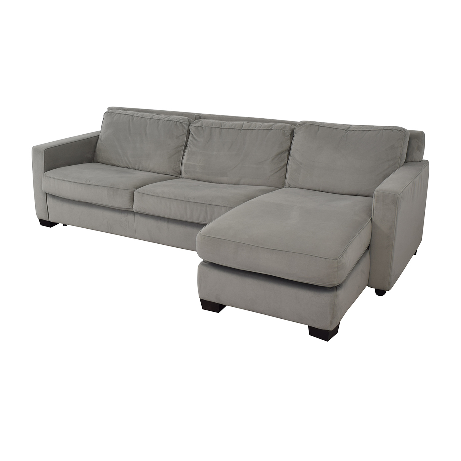 shop West Elm Henry Sectional Sofa Bed with Storage West Elm Sofas