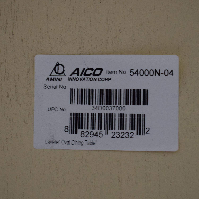 AICO AICO Michael Amini Lavelle Oval Dining Table for sale