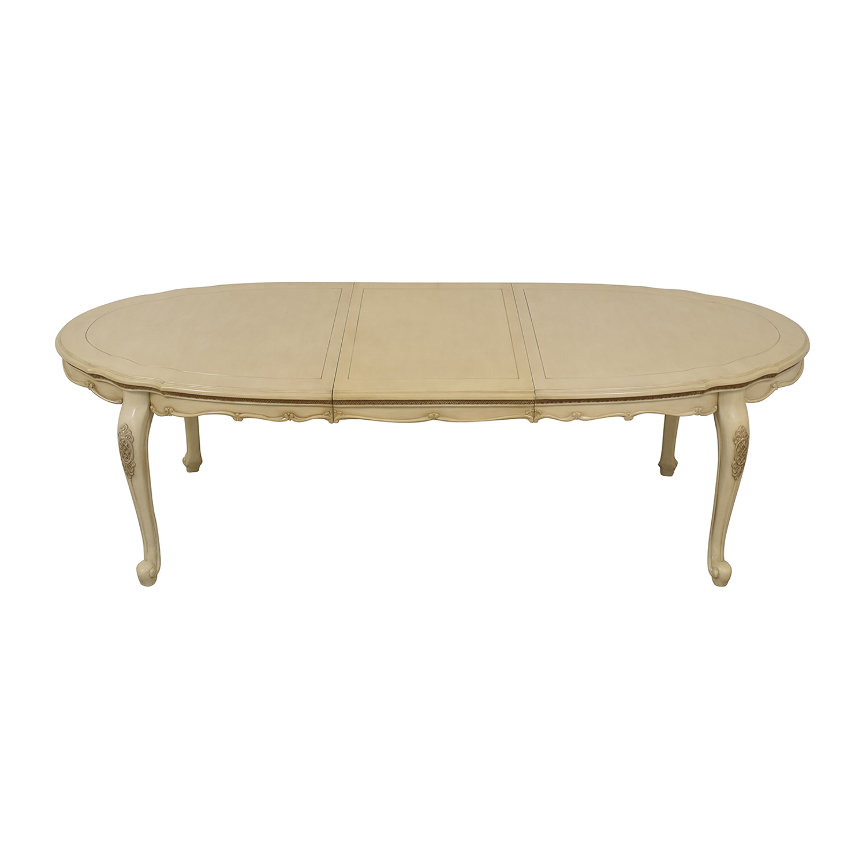 AICO Michael Amini Lavelle Oval Dining Table sale