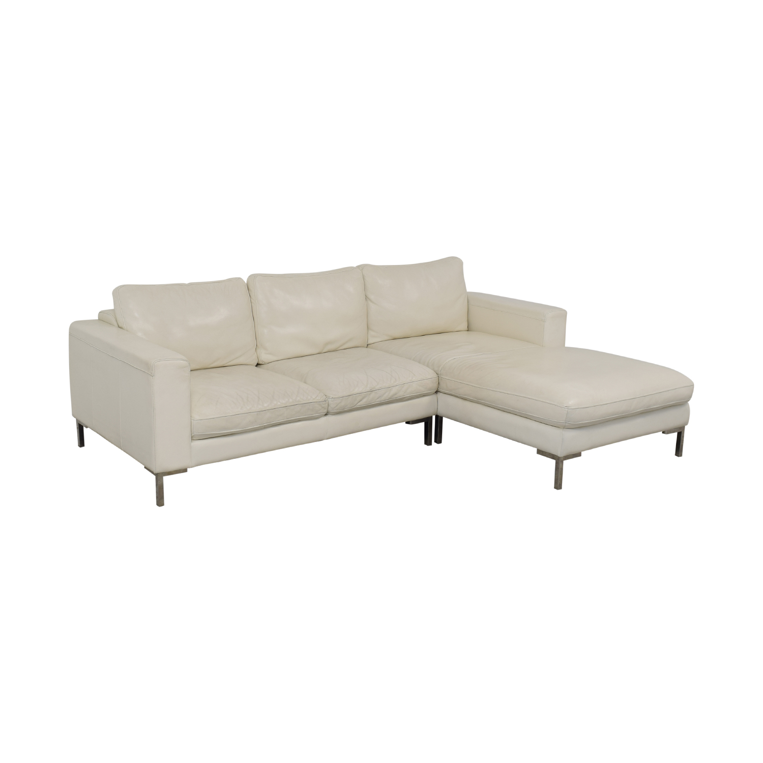 Modern Chaise Sectional Sofa