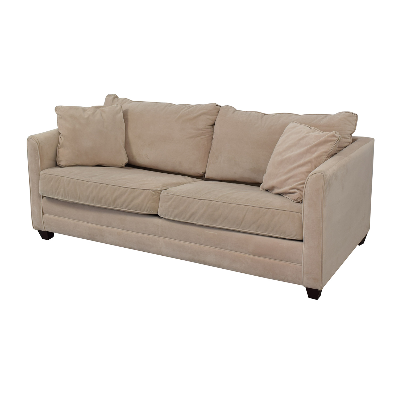 Jennifer Furniture Jennifer Furniture Tilly Queen Sleeper Sofa dimensions
